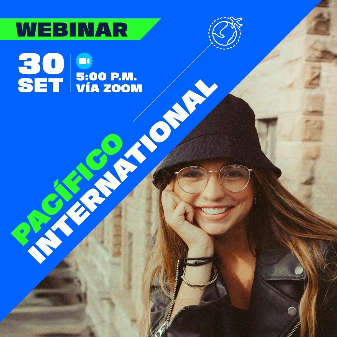 Webinar Pacífico International